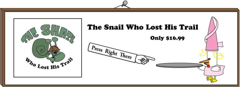 Order The Snail Who Lost His Trail